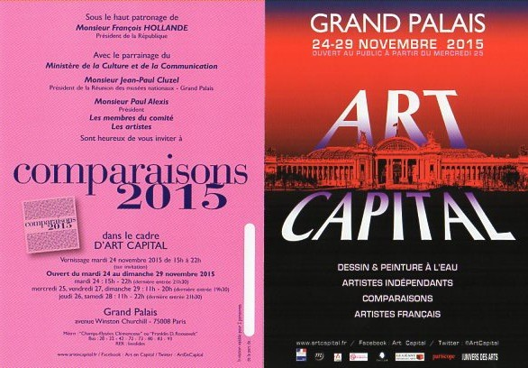 ART en Capital , salon Comparaisons , Grand palais ,Paris