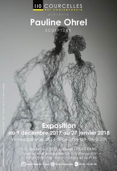 EXPO à la galerie Art courcelles