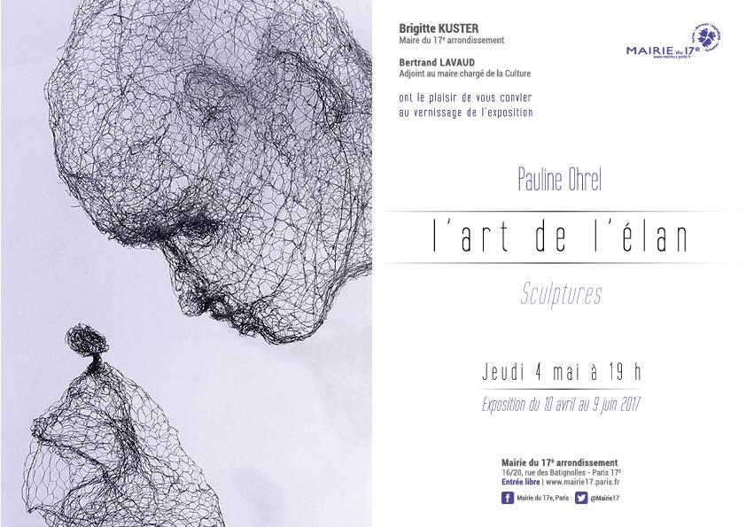 l'Art de l'Elan,  Mairie de Paris 17