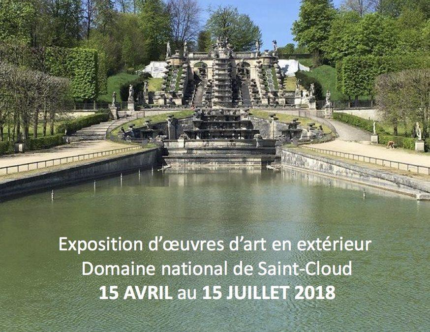 Parc de Saint Cloud avril/juillet 2018